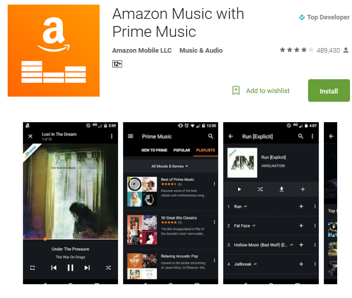 how to listen to amazon music streaming