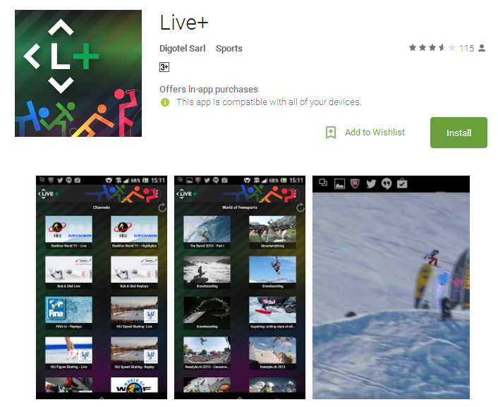 Live Android Apps