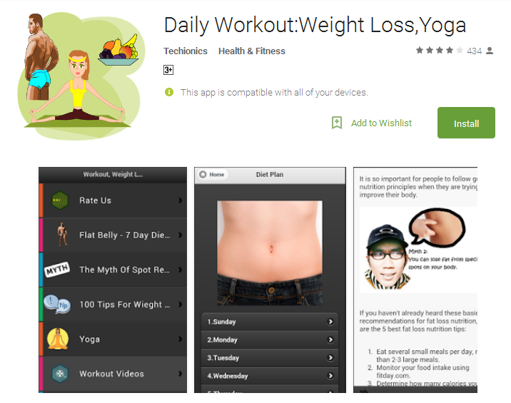Daily Workout Weight Loss Yoga