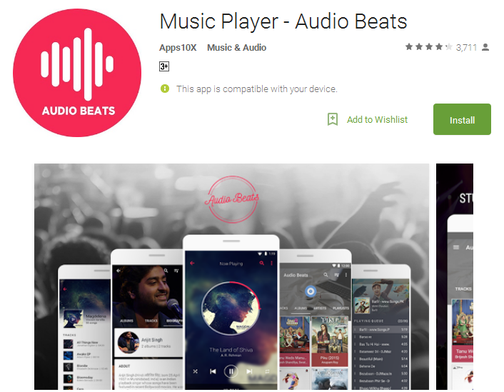 Music Player Audio Beats Android Apps