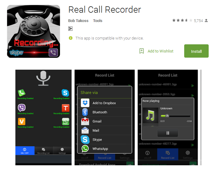 Top 10 Auto Call Recorder Apps For Android - Andy Tips