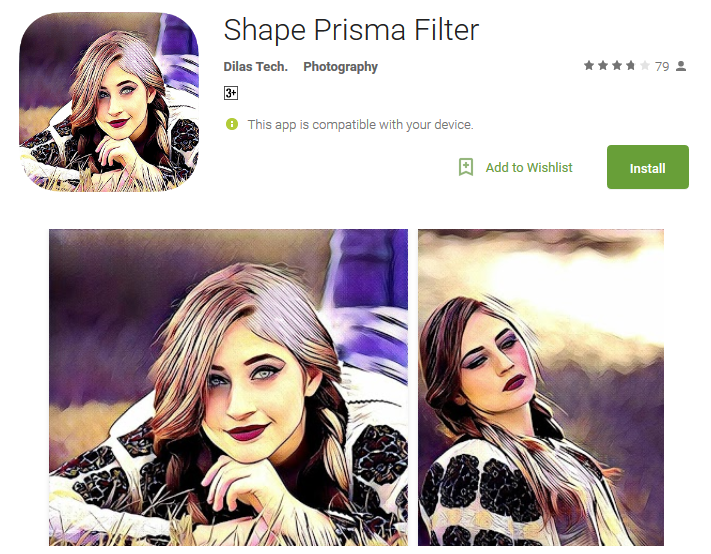 Shape Prisma Filter Android Apps