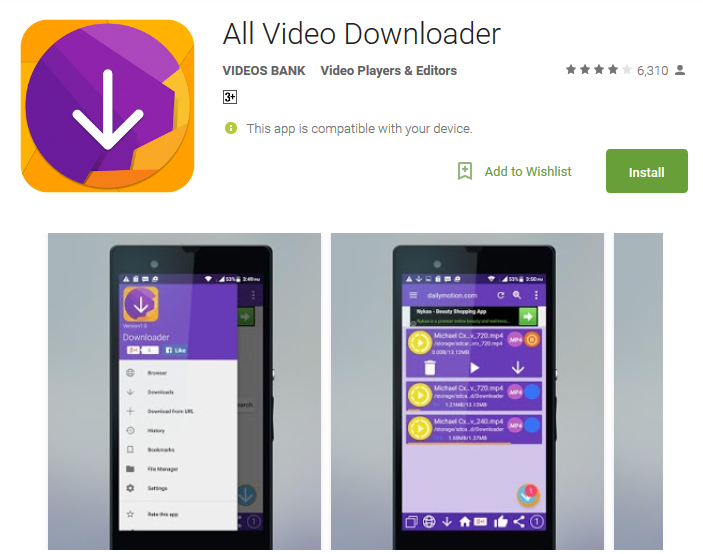 Top 12 Video Downloader Apps For Android : Free HD Videos