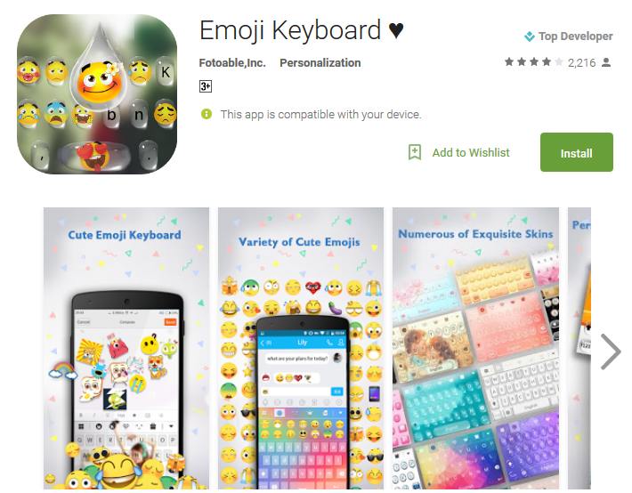 top 15 best free emoji keyboard apps for android andy tips