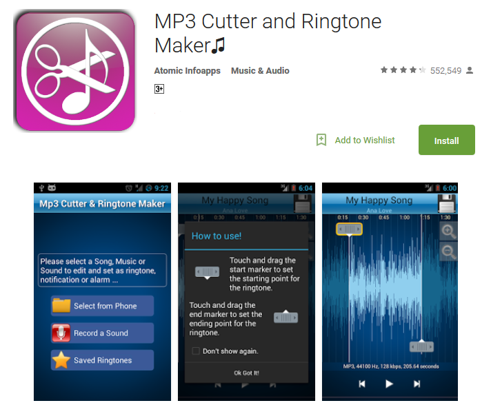 Top 10 Mp3 Cutter Apps Download For Android - Andy Tips