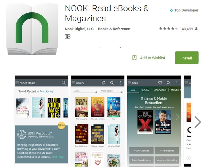 NOOK Read eBooks Magazines