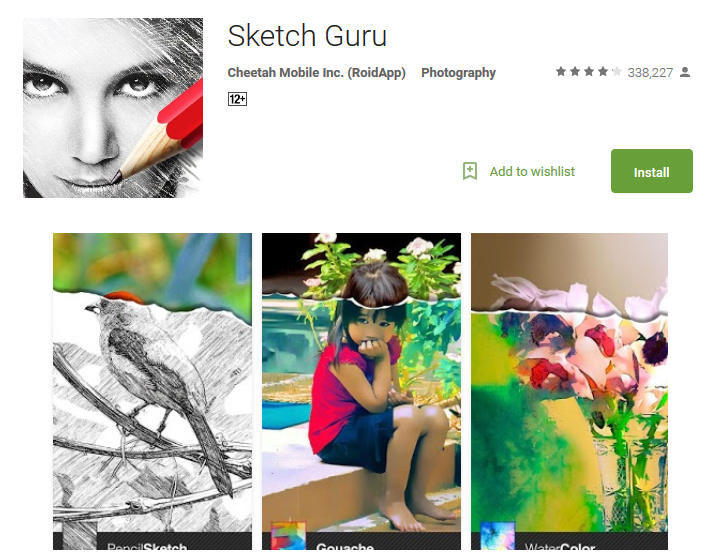Sketch Guru Android Apps