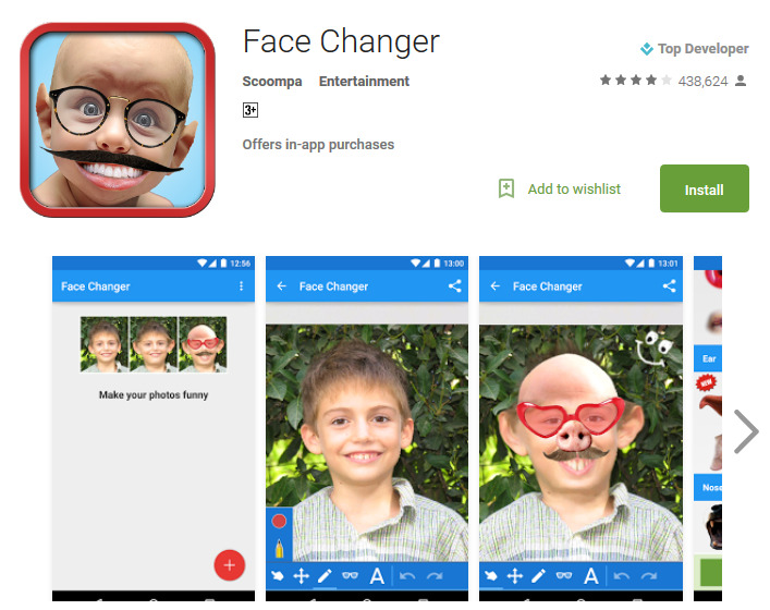 Top 10 Free Funny Faces Apps For Android - Andy Tips